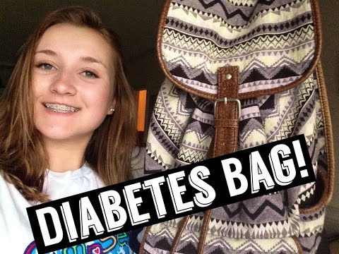 What's In My Diabetes Bag? | TypeOneTeen