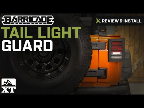 Jeep Wrangler Barricade Tail Light Guard - Textured Black (2007-2017 JK) Review & Install