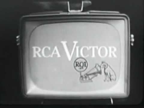 RCA Personal TV and Radio Commercial - 1956 - Vintage advertising