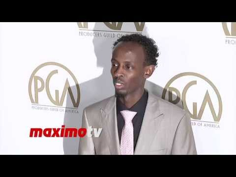 Barkhad Abdi  2014 PGA Awards Red Carpet Arrivals