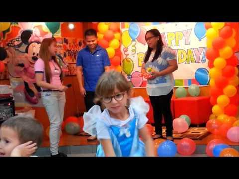 Raena Meil Davin Birthday Party Al Rigga Kfc Branch Dubai Uea