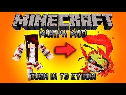 Minecraft รีวิว MOD : Morphing!!