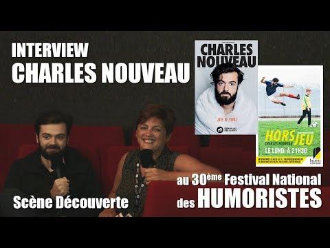 Les RDV Cultur'L Scène découverte avec Charles Nouveau   Festival des Humoristes 2018