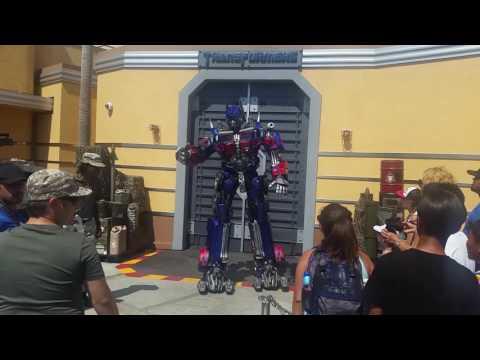 Optimus Prime Universal Studio 2016