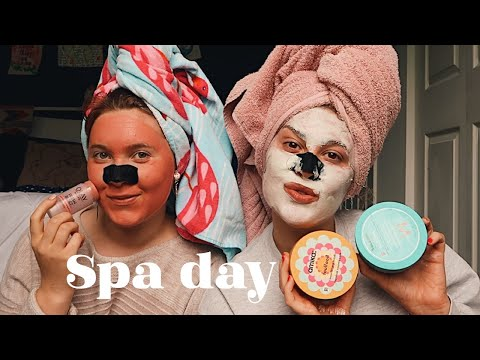 How I Deep Condition My Hair + Spa Day Vlog