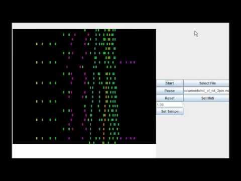Java Midi Visualizer (Synthesia Clone)