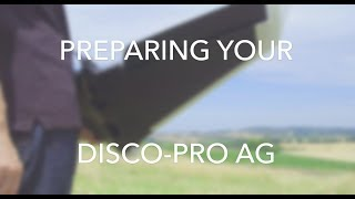 Tutorial Disco-Pro AG #2 - Setup & Preparing the drone