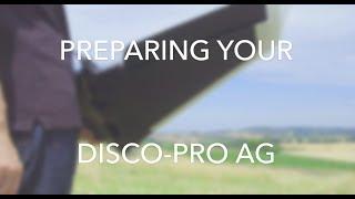 Tutorial Disco-Pro AG #2 - Setup & Preparing the drone