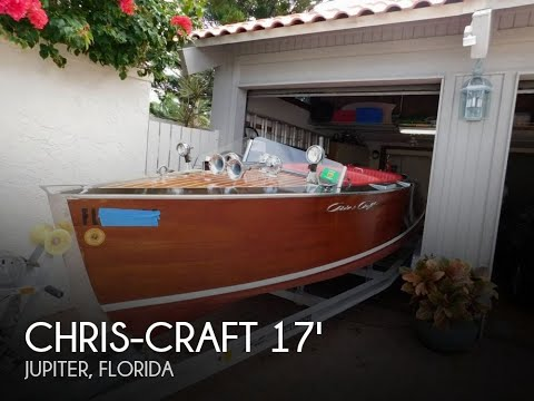 Used 1939 Chris-Craft Runabout Speed Boat For Sale In Jupiter, Florida