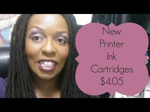 How to get $4.05  Printer Ink Cartridges!  Canon Pixma MG2520 Color Printer
