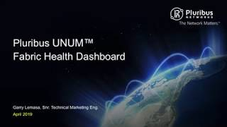 Pluribus UNUM Fabric Health Dashboard