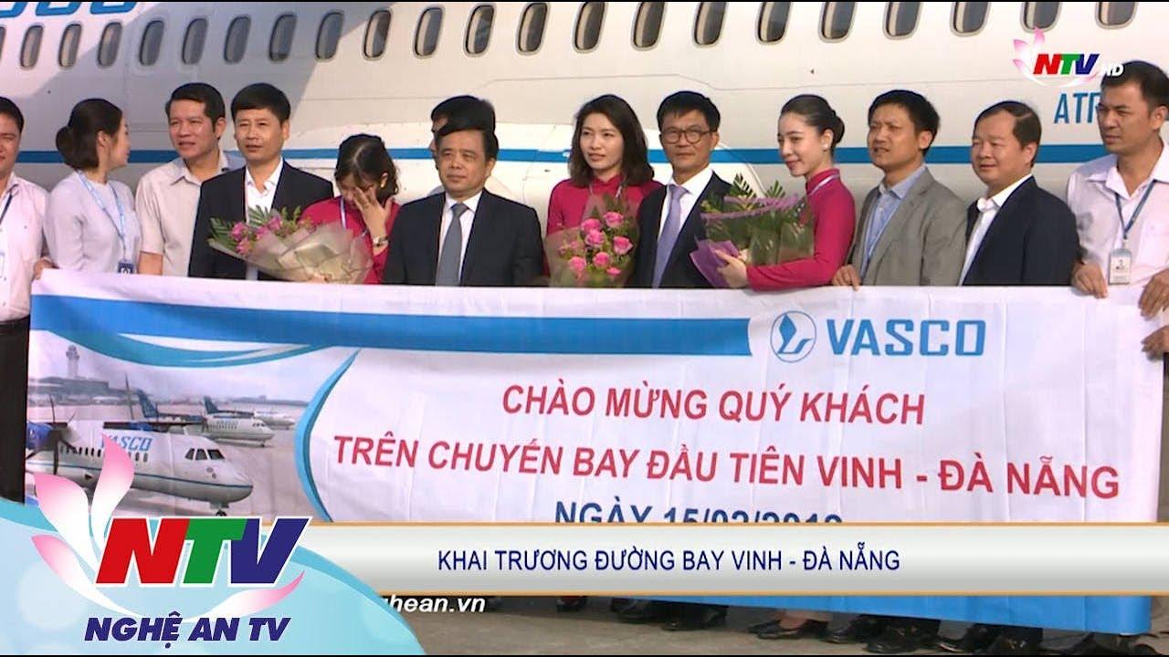 Khai trương đường bay Vinh- Đà Nẵng