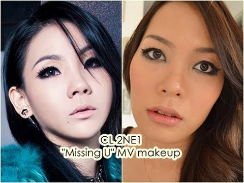 "2NE1 ""Missing you MV"" CL Inspired makeup ft.Jordana by MissPeony"