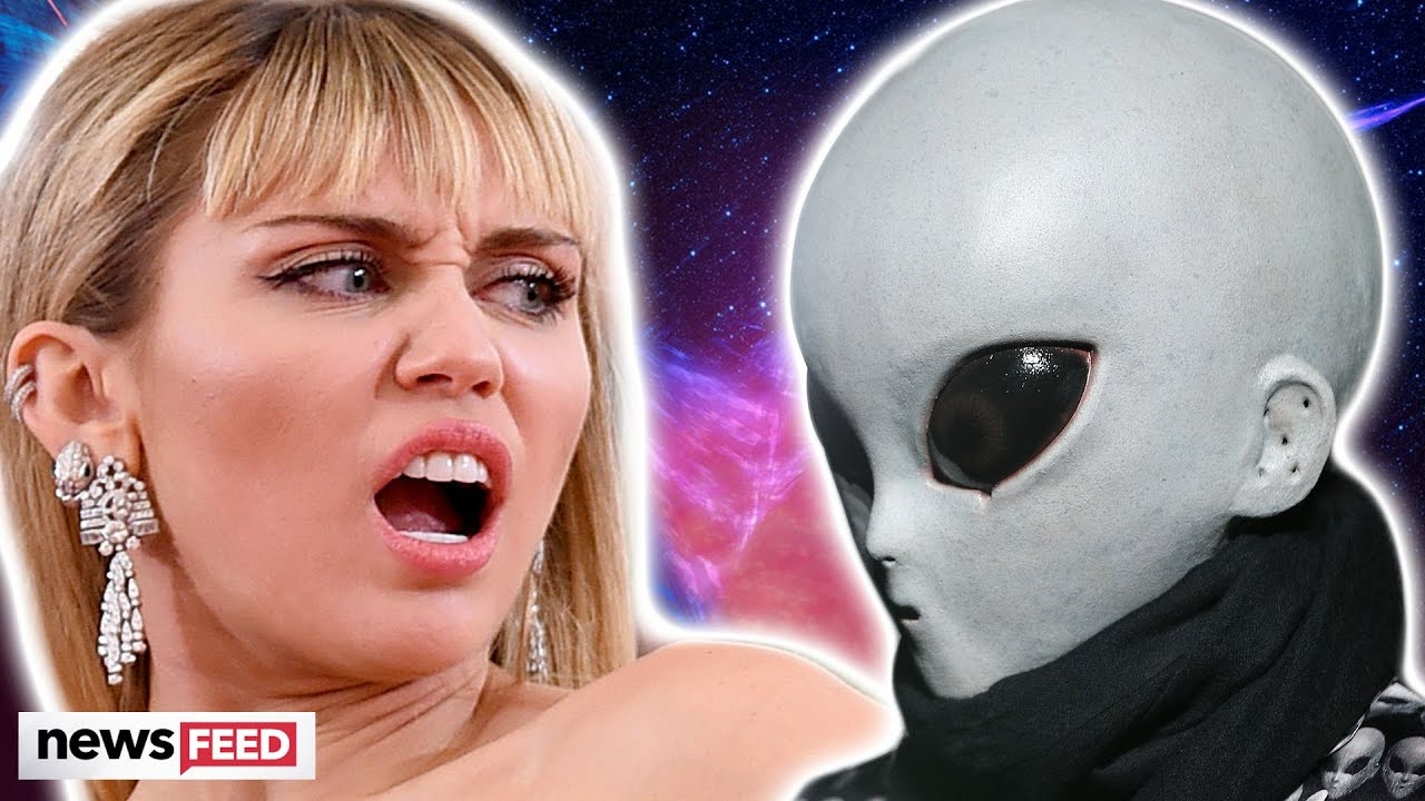 Miley Cyrus Admits To Making Eye Contact With An Alien