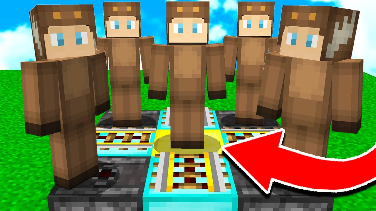 how to make a clone of yourself in minecraft pe