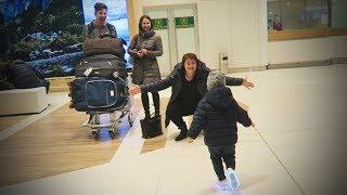 Bunica cu Nana din Grecia Vin in Vizita la Alex si Ariana cu Cate MULTE Ceva