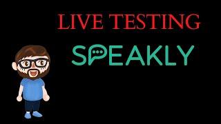 Live Testing The Speakly App & Word Dive screenshot 2