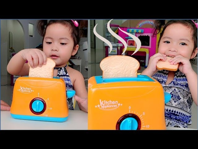 Toy Toaster Pretend Play ????????? ????????? ???????????????????????