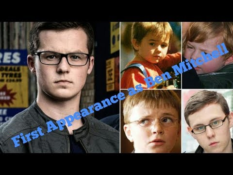 EastEnders past - Harry Reid's first appearance as Ben Mitchell 22nd September 2014