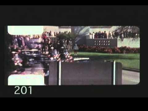 Zapruder Film (Wide) John F. Kennedy Assassination