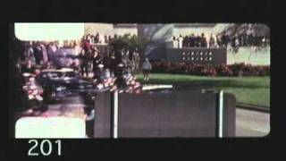 Zapruder Film (Wide) John F. Kennedy Assassination