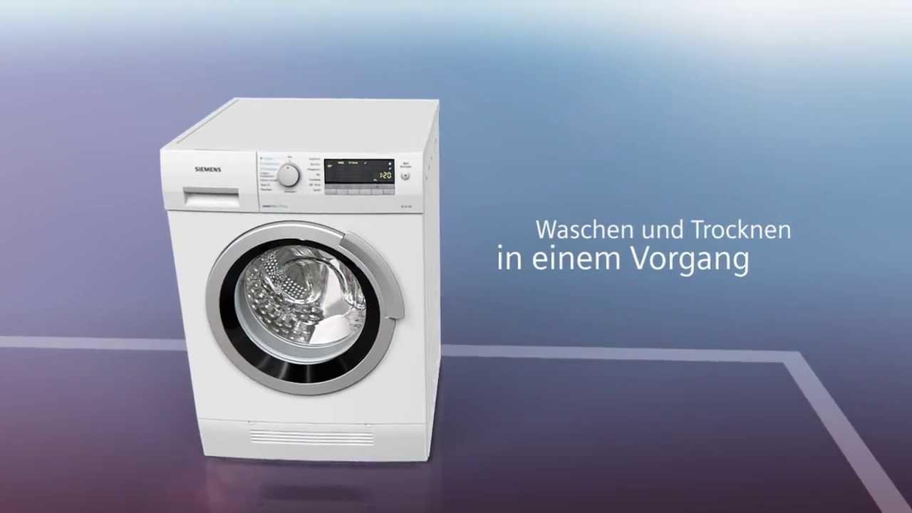 Waschen mit siemens waschtrockner youtube