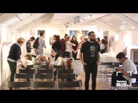 VÍDEO: Inauguración del certamen de arte emergente Eliofest Lucena