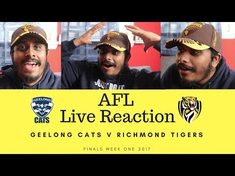 Geelong Cats v Richmond Tigers LIVE REACTION