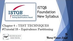 ISTQB Foundation Level 2018 | 4.2.1 Equivalence Partitioning