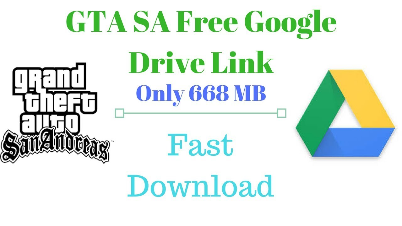 Gta San Andreas Pc With Multiplayer Full Game Google Drive