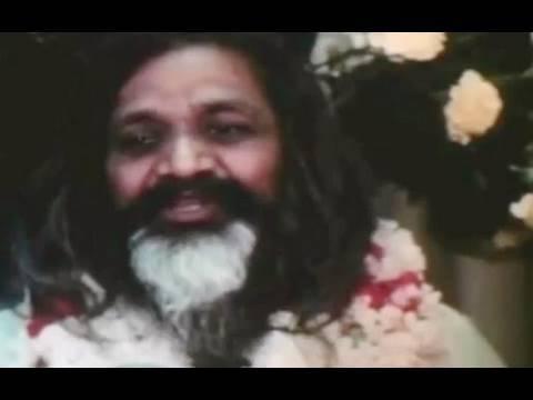 Rare footage of Maharishi Mahesh Yogi in Los Angeles