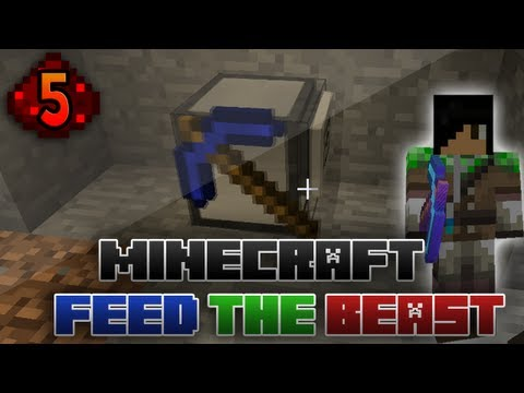 Let's Try: Minecraft - Feed The Beast: 5 - Turtle Tunnels