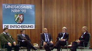 Grüne im Landtag 1990: Fußnote oder neues Kapitel?