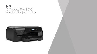 HP OfficeJet Pro 8210 Wireless Inkjet Printer | Product Overview | Currys PC World