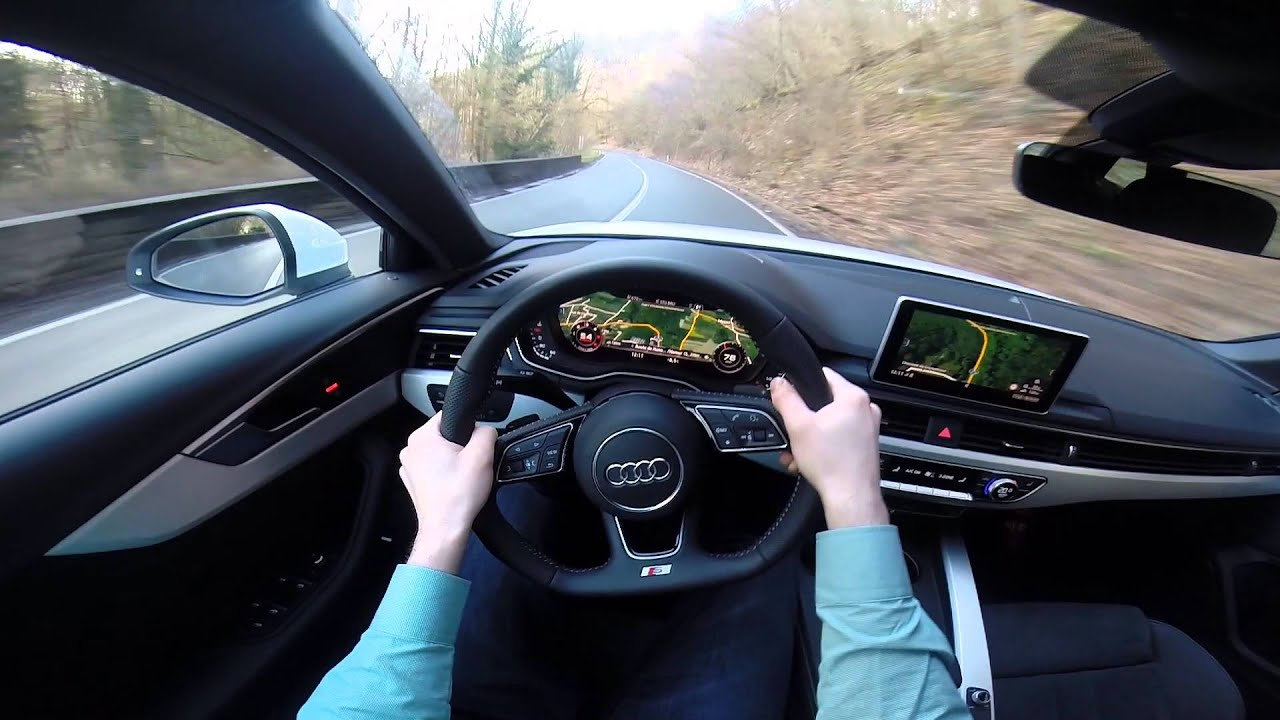2016 audi a4 avant 2 0 tdi 190hp s line pov test drive gopro youtube. Black Bedroom Furniture Sets. Home Design Ideas