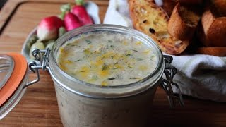 Duck Rillettes Recipe - Slow Roasted Duck Confit Pate Spread
