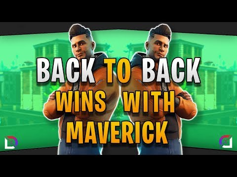 Fortnite - Back To Back Wins With Maverick! - October 2018 | DrLupo