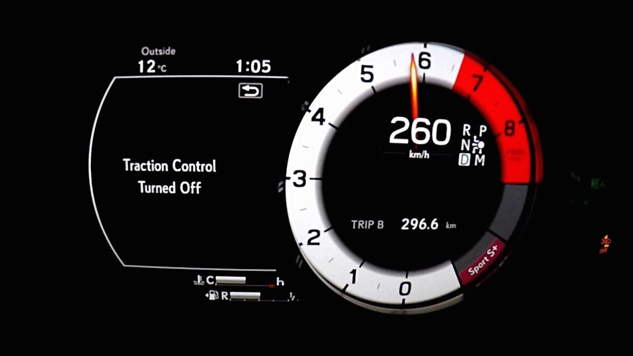 2018 Lexus Lc500h Launch Control 0 260km H Top Speed Acceleration