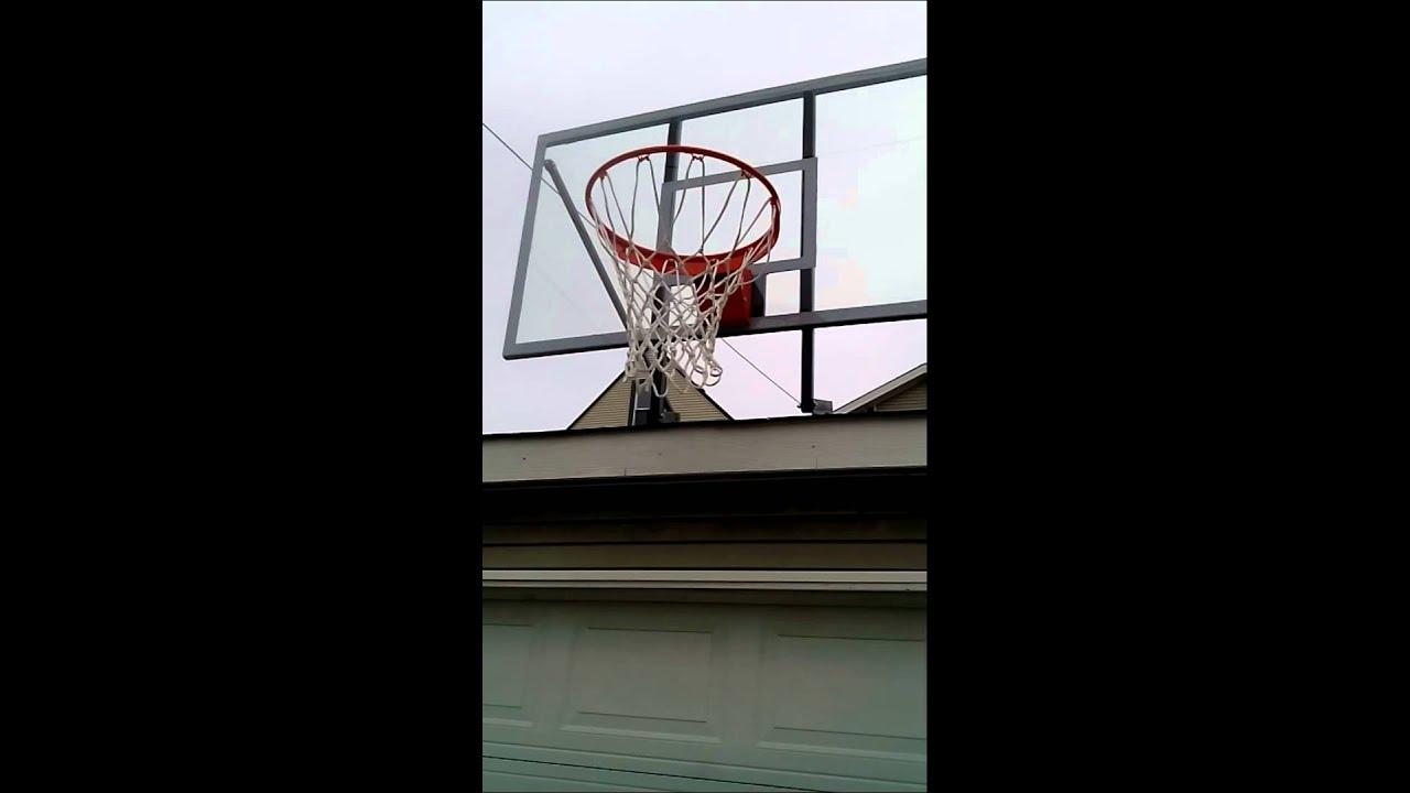 Roof Mounted Basketball Hoop