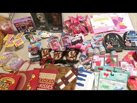 What I got my kids for Valentine's Day! Valentine's Haul!!