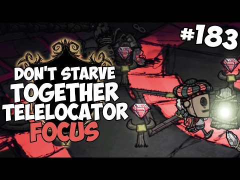 Ancient Chess Fortress & Telelocator Focus - Don't Starve Together Gameplay - Part 183
