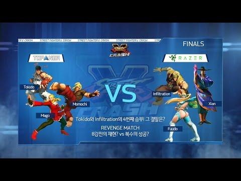TEAM RAZER vs TOPANGA Finals Match Street FighterⅤ Crash 16.06.05 -EsportsTV