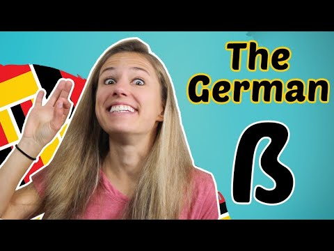 GERMAN PRONUNCIATION 10: The special letter ß (sharp s) 😊😊😊