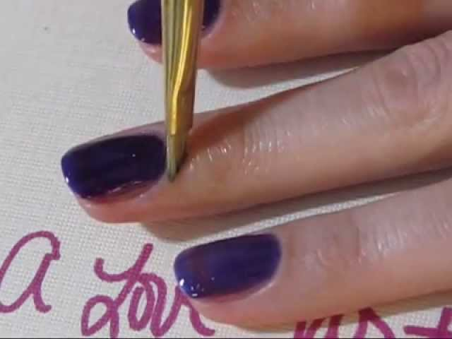 How To Remove Nail Polish From Your Cuticles Youtube