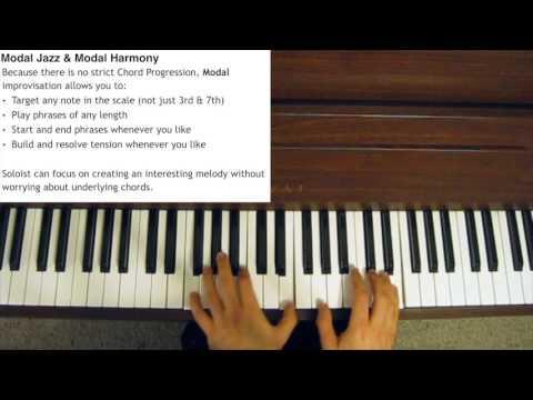 Modal Jazz Explained - Improvisation and Harmony