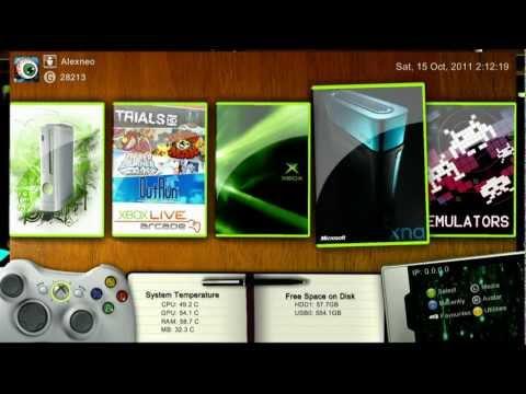 XBOX 360 JTAG - RGH - Playing MKV Video Files With FFPlay - HD