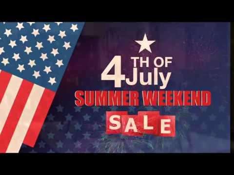 Douglas Furniture 4TH Of July Summer Weekend Sale!