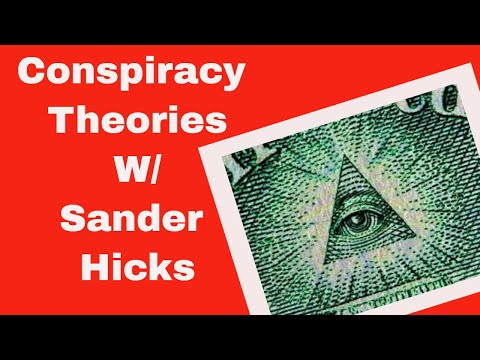 Conspiracy Theories  W/ Sander Hicks| Live From America Podcast
