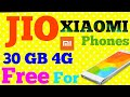 Reliance Jio Offering 30 GB Additional 4G Data With Xiaomi Smartphones in Telugu