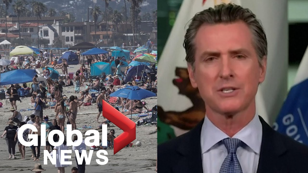 """Coronavirus: California governor vows to hold """"bad actors"""" accountable over COVID-19 spread"""